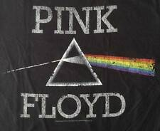"NEW! Pink Floyd ""Dark Side Classic"" Classic Rock Band Liquid Blue Adult T-Shirt"