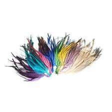 FM084  Emu feather bunch 20 feathers - For fascinators, hats & craft use