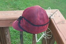 Beaver Brand Railroad-Style Cap with Quilted Lining and Earflaps Tie Front