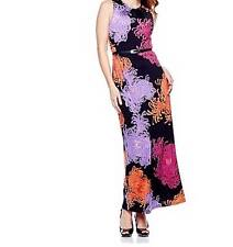 Women's Cruise Vacation evening party cocktail maxi dress stretch plus 1X 2X new