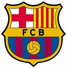 STICKER AUTOCOLLANT EN PVC FOOTBALL FC BARCELONE BARCA CATALAN LIGA ESPAGNOL