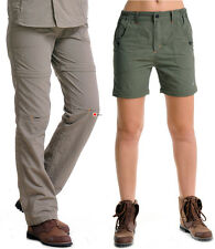 Women's Detachable Short Trouser Hiking Travel Mountain Outdoor Quick Dry Pants