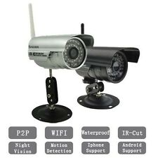 0.3MP 720P IP Camera Network P2P Outdoor Security Waterproof Night Vision Wifi