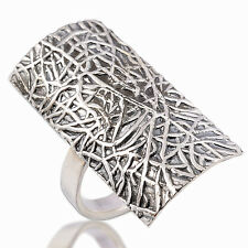Beautiful Thai Design Ring 925 Sterling Silver