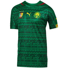 Puma Cameroon World Cup WC 2014 Home Soccer Jersey Brand New Green
