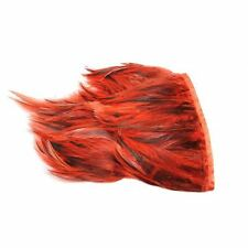 FR016  Feather Fringe Grizzly Schlappen 1meter-For fascinators, hats & craft use
