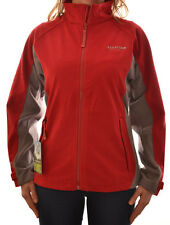 REGATTA LADIES INVENT WINDPROOF FLEECE RED JACKET COAT OUTDOOR CASUAL WA573