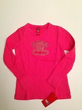 NWT Small Paul Frank Girl Pink Julius Long Sleeve Top T-Shirt 5 5T 6