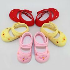 Lovely Baby Toddler Shoes Girl's Infant Floral Canvas Sneaker Crib Shoes 3Size