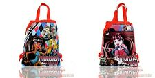 1PCS 4styles moster high Kids Drawstring Backpack Bags Kids Handbags party gifts