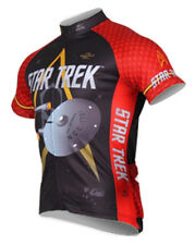 Star Trek Engineering Red Cycling Jersey Mens Brainstorm Gear bicycle with Sox