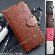 Luxury Leather Flip Stand Case Wallet Cover For SAMSUNG GALAXY S5 V i9600 m1