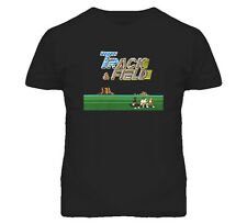 Track And Field Retro Video Arcade Game T Shirt