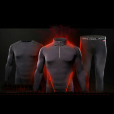 F [Tesla] Mens Compression HOTGEAR PREMIUM Sports Base Layer Thermal Collection