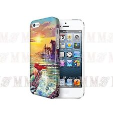 DISNEY The Little Mermaid Princess 3D Case Cover for Iphone 4 4s 5 5s 5c 6 iPod