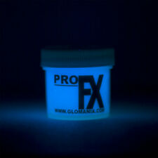 BLUE Glow in the Dark Paint 1-2oz pot, luminescent, star ceiling, cosmic paint