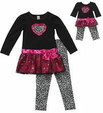 """Dollie & Me Sz 10 20.5 and 18"""" Doll Matching outfit clothes fit american girl"""