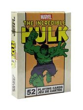 Marvel Comics The Incredible Hulk Playing Cards - NEW & OFFICIAL