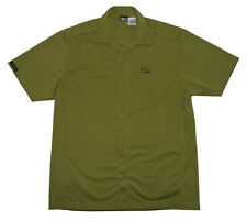 Cycling Jersey Casual Urban Commuter Style Olive Green Mens Ride 7B Bike Shirt