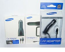 Original Car Charger + USB Cable for Samsung Galaxy S5 i9600 Note 3 N9000 S4 S3