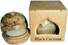 Auric Blends Solid Perfume Oil, Hand Carved Soapstone Container: You Pick Scent!