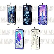 Disney Princess Frozen Keep Calm Quotes Snow for Iphone 4 / 4s 5 / 5s Case Cover