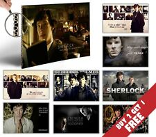 Best SHERLOCK HOLMES Posters * Cult British Novel TV Series Wall Decor Gift Idea