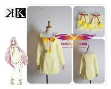 In-kind Shooting K Anime Cat Yellow One-piece Dress Cosplay Costume Custom Made