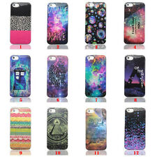 Galaxy Painted TPU Soft Back Silicone Case Cover Skin For Apple iPhone4 4S 5 5S