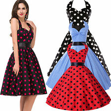 Multi Choice RETRO TEA VINTAGE Rockabilly 50s Pin Up HOUSEWIFE DRESS Summer New