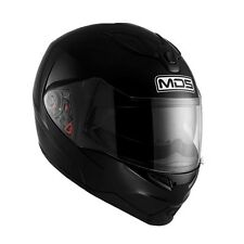 MDS (AGV) MD200 Black Gloss Flip Front Motorcycle Helmet sizes XS-S-M-L-XL cheap