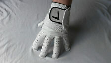 MENS NEW GOLF GLOVES LH & RH - CHOOSE YOUR QUALITY, HALF LEATHER/SYNTHETIC/FULL