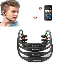 Sports Stereo Wireless Bluetooth Headset Earphone for Cell Phone iPhone PC