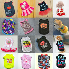 New Hot Summer Various Pet Puppy Small Dog Cat Pet Clothes Vest T Shirt Apparel