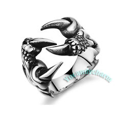 Korean Fashion G Dragon Style Claw PUNK Ring Fine Stainless Steel Made in Korea