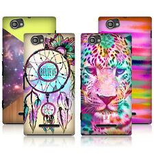 HEAD CASE DESIGNS TREND MIX HARD BACK CASE COVER FOR SONY XPERIA M C1905 C1904