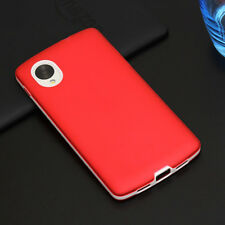 Frame TPU Rubber Gel Silicone Case Skin Cover for LG D820, E980 , Google Nexus 5