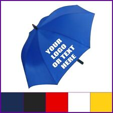 GOLF UMBRELLA PERSONALISED  AVAILABE IN 6 DIFFERENT COLOURS