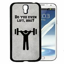 Do You Even Lift Bro Hard Snap Cell Phone Case For Samsung Galaxy S3 S4