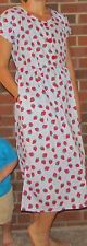 """Dress 50/50 Print Strawberries and checks Cool and Cool Price! """"Made in USA"""""""