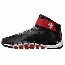 Adidas D Rose Dominate Derrick Black Red Chicago Bulls Mens Basketball Shoes