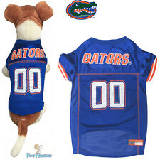NCAA Pet Fan Gear FLORIDA GATORS Dog Jersey Shirt Tank for Dogs BIG SIZE XS-2XL