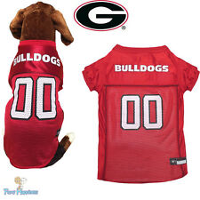 NCAA Pet Fan Gear GEORGIA BULLDOGS Jersey Shirt Tank for Dog Dogs Puppy XS-XL