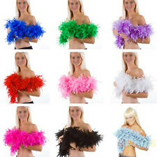 Wedding Party Flower 2M Feather Boa Fluffy Craft Costume Dressup Home Decor