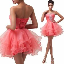 2014 Short Prom Dress Ball Graduation Evening Party Bridesmaid Dresses Size 2-16