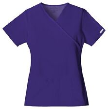 Cherokee Scrubs Flexibles V Neck Scrub Top 2824 Grape