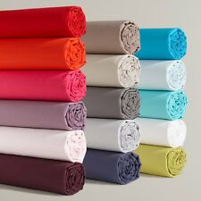 La Redoute Fitted Cotton Sheet For Standard Mattress
