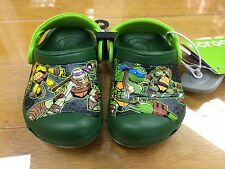 Crocs Kids Classic Clogs Teenage Mutant Ninja Turtles TMNT