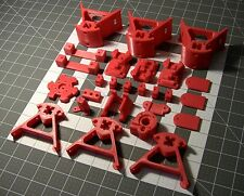 Mini Kossel 3D Printer - Printed Parts - ABS or PLA - Pick Color & Carriage Type