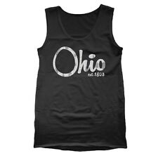 OHIO EST 1808 cool ohio buckeye football retro sports new Mens TANK TOP BLACK